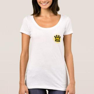 T-shirt de cou de Next Level Scoop du Roi Women's