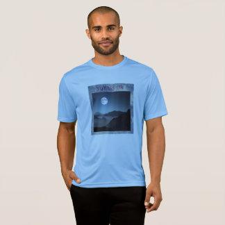 T-shirt de coucher du soleil de yuyass
