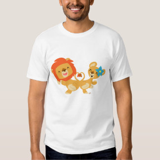 T-shirt de couples de lion de danse