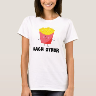 T-shirt de couples fait l'un pour l'autre