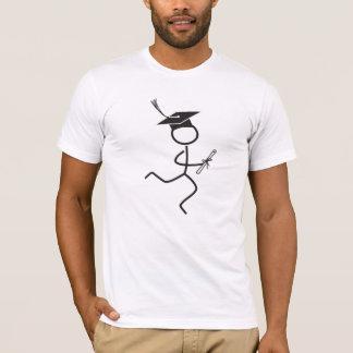 T-shirt © de coureur d'obtention du diplôme