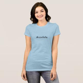 T-shirt de #covfefe d'atout