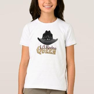 T-shirt de cow-girl de la Reine de rodéo de Li'l