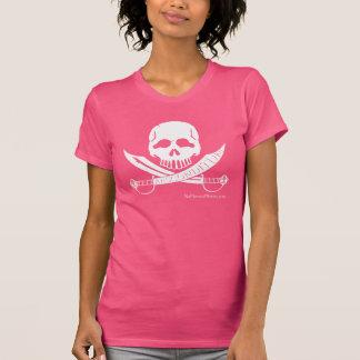 T-shirt de crâne d'Absconditum des femmes