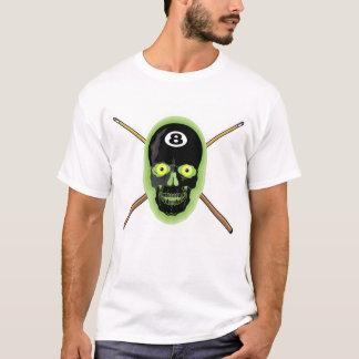 T-shirt de crâne de 8 boules