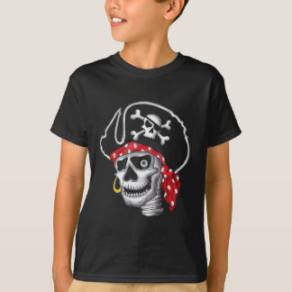 T-shirt de crâne de pirate