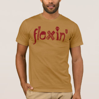 T-shirt de Cray Flexin de mot d'argot