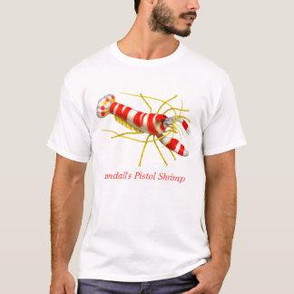 T-shirt de créature de récif de crevette de