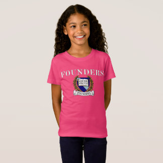 T-shirt de crête de fondateurs