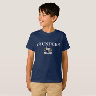T-shirt de crête de fondateurs (unisexe)