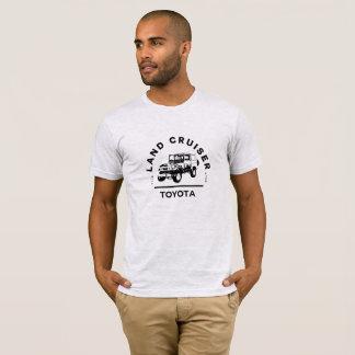 T-shirt de croiseur de terre de Toyota