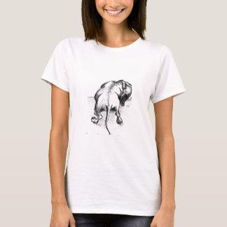 T-shirt de croquis de teckel par Annabel Tarrant