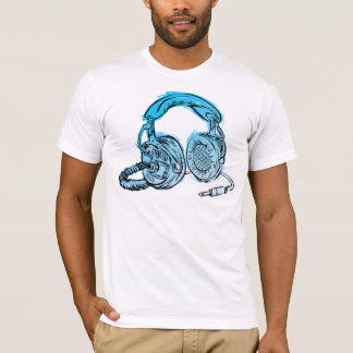 T-shirt de croquis d'écouteurs d'Andy Howell