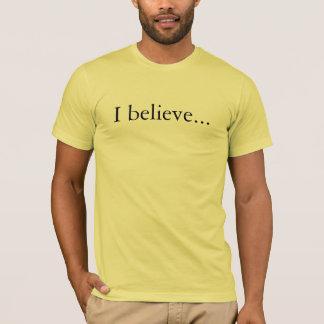 T-shirt de croyance d'apôtres