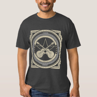 T-shirt de cru de hard rock