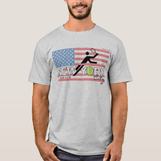 T-shirt de cru de tennis de New York City