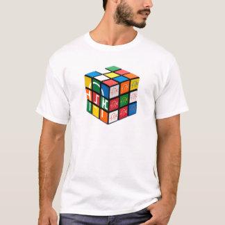 T-shirt de cube en ville de spatule