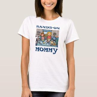 T-shirt de cuisson du jour de mère
