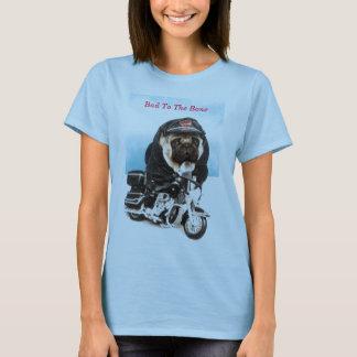 T-shirt de cycliste de chien de carlin