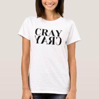 T-shirt de dames de Cray Cray