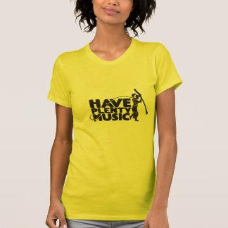 T-shirt de dames de dopant de Mahangu petit