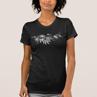 T-shirt de dames de fleur de passion