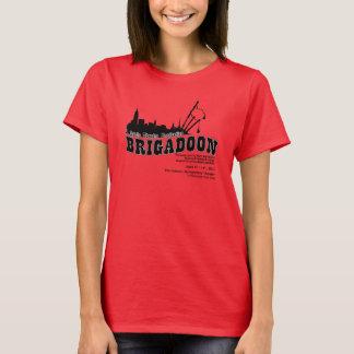 T-shirt de dames de fonte de Brigadoon