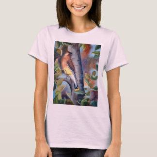 T-shirt de dames de jaseur de cèdre