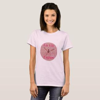T-shirt de dames de LVC, rose
