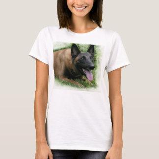 T-shirt de dames de Malinois de Belge