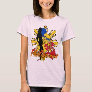T-shirt de dames de Philippines W/Girl