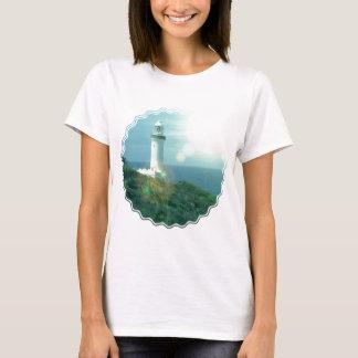 T-shirt de dames de photos de phare