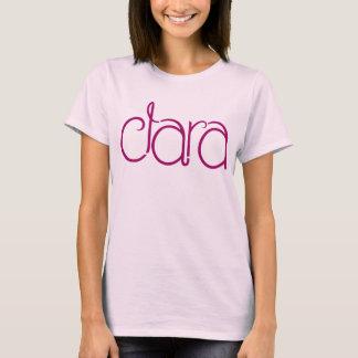 T-shirt de dames de prune de Clara