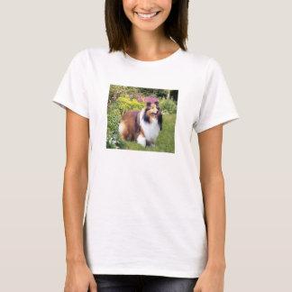 T-shirt de dames de Sheltie