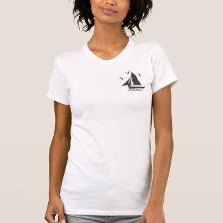 T-shirt de dames de voilier de marins