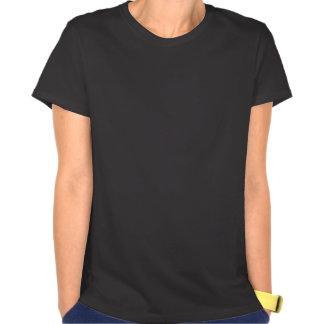 """T-shirt de dames d'impression de """"amour"""""""