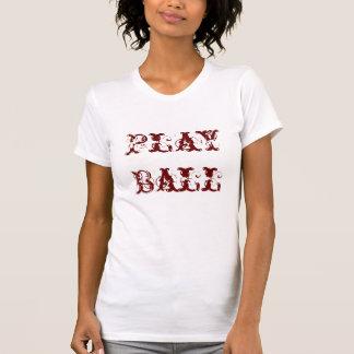 T-shirt de dames du base-ball