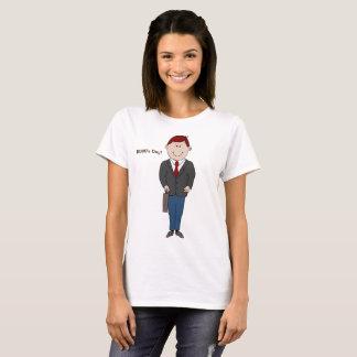 T-shirt de dames du jour du patron