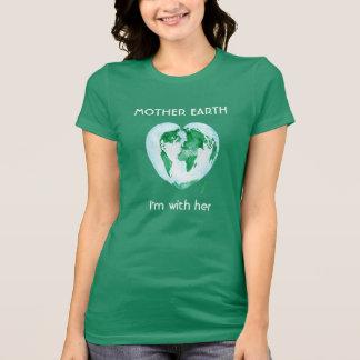 T-shirt de dames - la Science mars - je suis avec