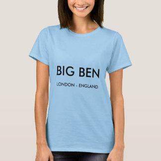 T-shirt de dames Londres, BIG BEN, Londres
