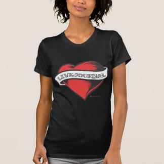 T-shirt de dames (tatouage de LiveJournal)
