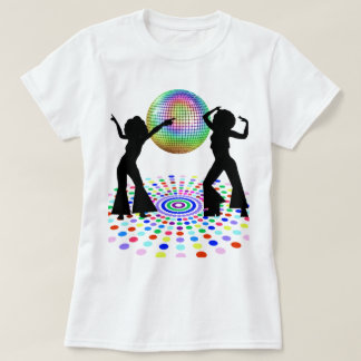 T-shirt de danse de disco