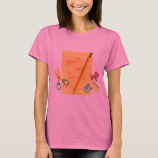 T-shirt de De nouveau-School
