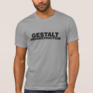 T-shirt de déconstruction de configuration