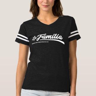 T-shirt de défenseur de Familia de La - marine