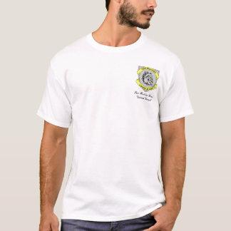 T-shirt de DÉFI de CHIEN de DOUBLE de marque de