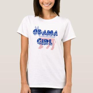 T-shirt de Démocrate de fille d'Obama