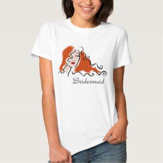 T-shirt de demoiselle d'honneur