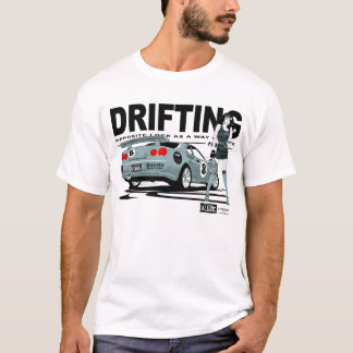 T-shirt de dérive de Nissan Skyline
