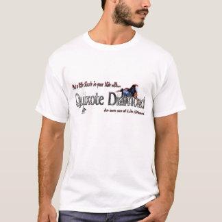 T-shirt de diamant de Don Quichotte